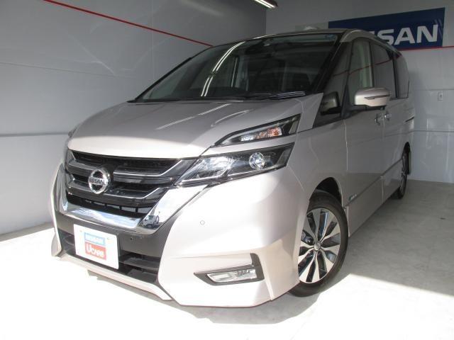 沖縄の中古車 日産 セレナ 車両価格 242.5万円 リ済別 2017(平成29)年 3.1万km ベージュ