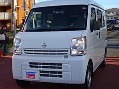 NV100クリッパーバン660 DX エマージェンシーブレーキ パッケージ ハイルーフ 5AGS車 4WD メモリーナビ 展示試乗車