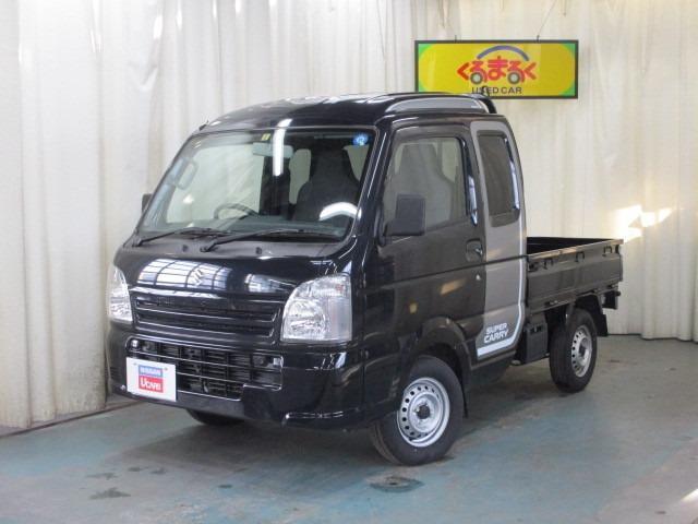 スズキ 660 スーパーキャリイ L 3方開 4WD 誤発進抑制装置