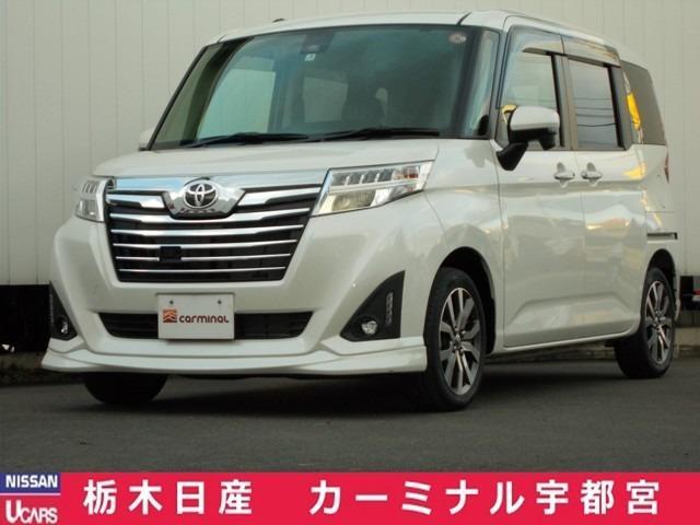 トヨタ 1.0 カスタム G-T 衝突軽減ブレーキ・純正ナビ・バックカメラ