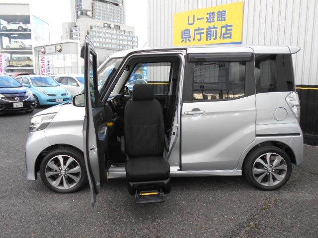 日産 ハイウェイスターX Gパッケージ 助手席スライドアップシート