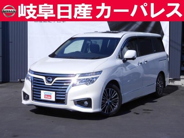 日産 3.5 VIP パワーシートパッケージ 4WD 後席モニター