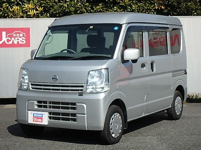 日産 GXターボ ハイルーフ・エマージェンシーブレーキ・純正ナビ