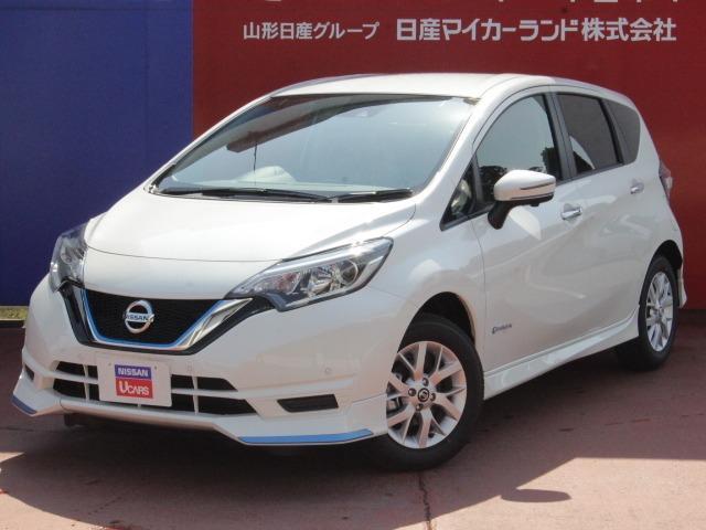 日産 1.2 e-POWER X FOUR Vセレクション 4WD 純正エアロ付き 未使用車