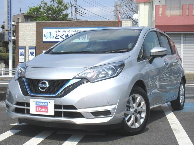 日産 ノート 1.2 e-POWER X メモリーナビ付き・社有車アップ