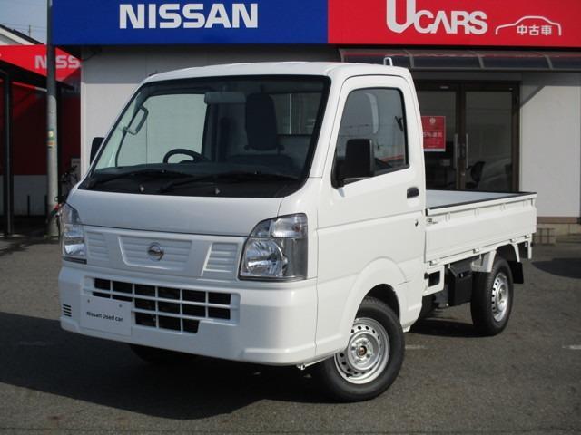 日産 660 DX 農繁仕様 4WD 登録済未使用車!