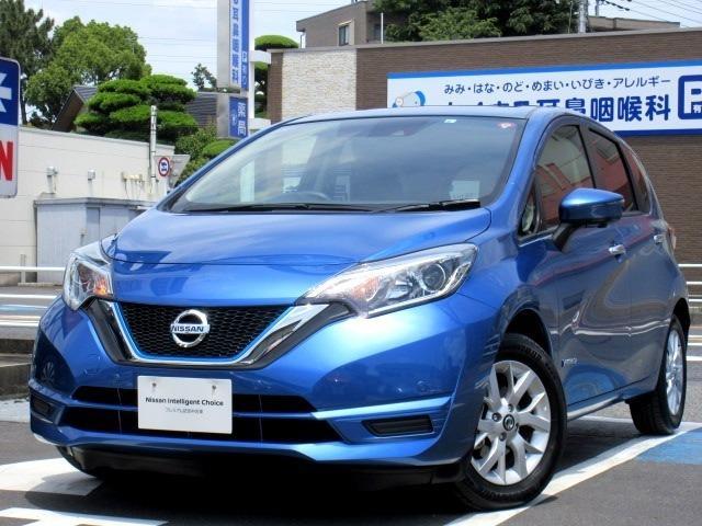 日産 ノート 1.2 e-POWER X メモリーナビ付き 社有車アップ