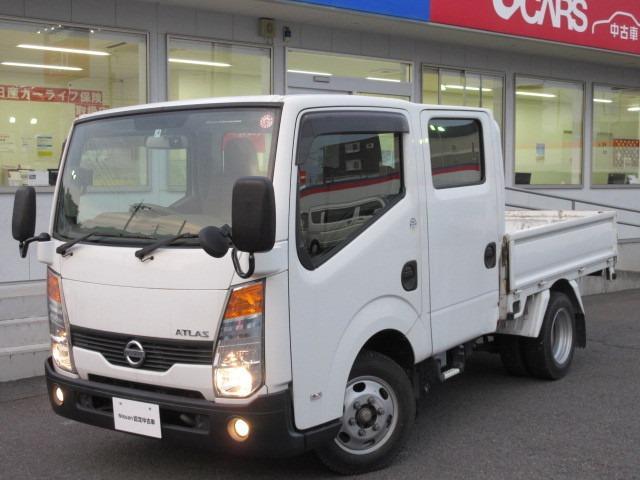 日産 アトラストラック 2.0 ダブルキャブ フルスーパーロー