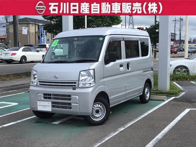 日産 660 DX ハイルーフ 5AGS車 4WD 届出済未使用車 マット・バイザー付
