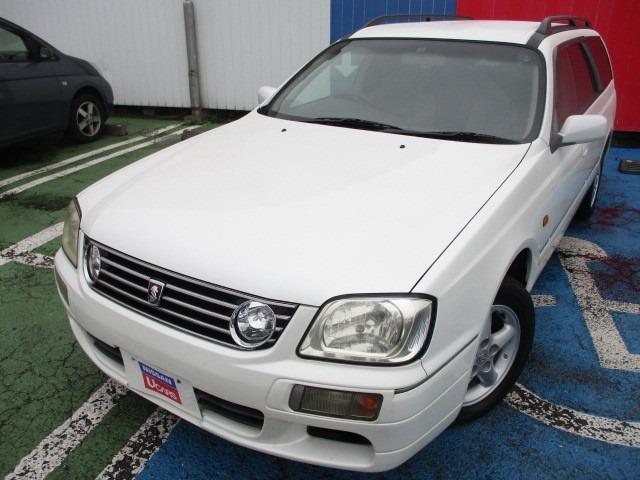 日産 ステージア 25X FOUR 4WD ワンオーナー 15AW ETC