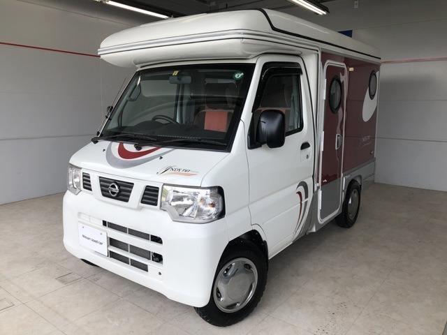 日産 インディ727キャンピングカー仕様 アルミボディパネル採用
