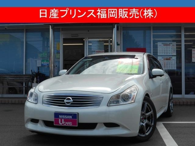 日産 3.5 350GT タイプS メーカーHDDナビ・パドルシフト