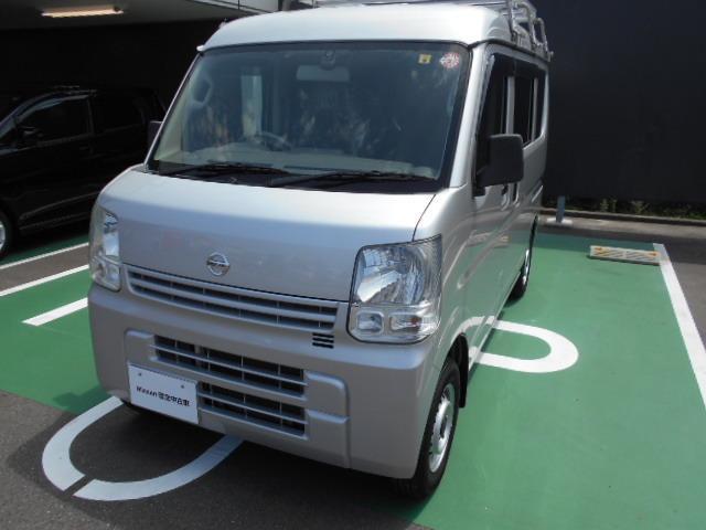日産 660 DX ハイルーフ 社外メモリーナビ ルーフキャリア