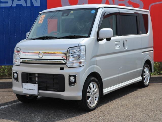 日産 660 E 4WD 純正ナビ バックモニター エマブレ