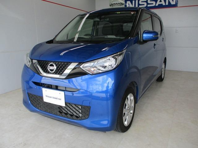 沖縄の中古車 日産 デイズ 車両価格 124万円 リ済別 2019年 1.6万km ブルー