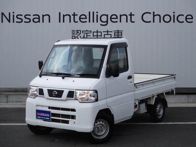日産 660 DX 4WD 三方開き(荷台)