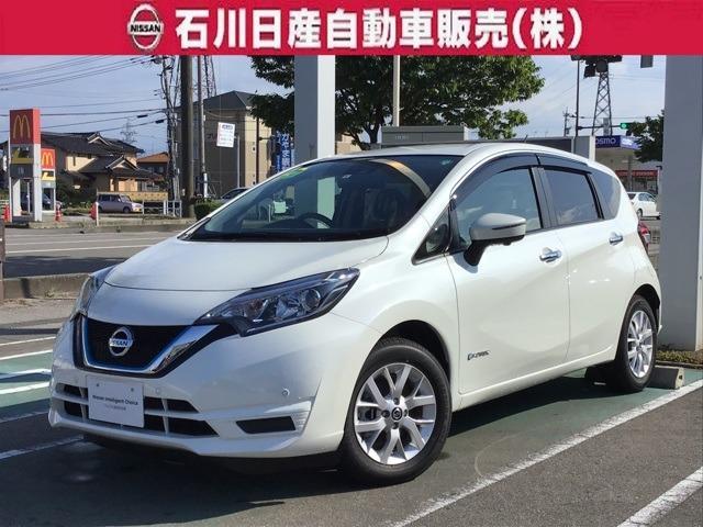 日産 ノート 1.2 e-POWER X Vセレクション 登録済未使用車 マット・バイザー付
