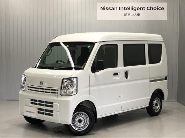 日産 NV100クリッパーバン DX 660 DX ハイルーフ 5AGS車 4WD CDデッキ&ETC付