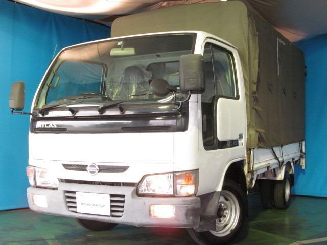 日産 アトラストラック 2.0 ロング スーパーロー DX AM/FMラジオ