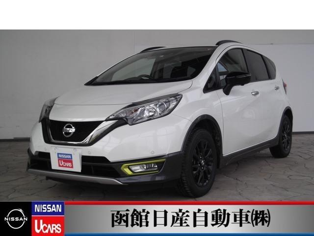 日産 1.2 X FOUR シーギア 4WD