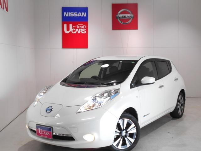 日産 X サンクスエディション(30kwh) 【11セグ】NissanConnectナビ&フルセグ&LEDへッドライト&全席シートヒーター&ハンドルヒーター&バックカメラ&ETC