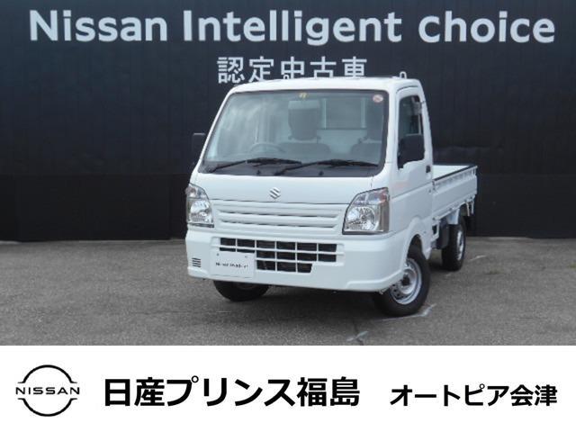 スズキ 660 KC エアコン・パワステ 農繁仕様 3方開 4WD ライトレベライザー