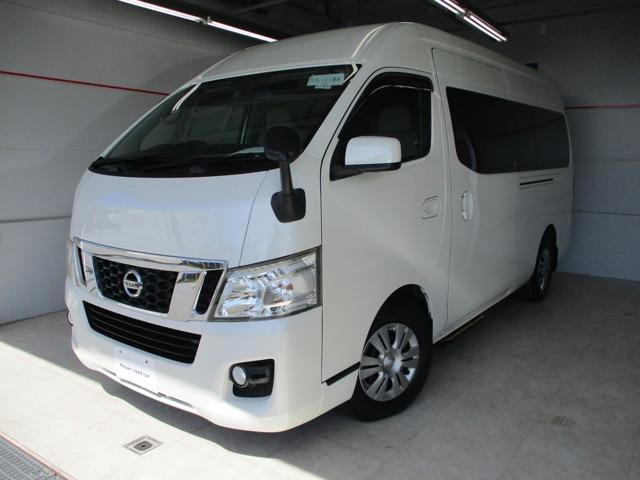 沖縄の中古車 日産 NV350キャラバンワゴン 車両価格 199万円 リ済別 2013(平成25)年 1.1万km パールホワイト