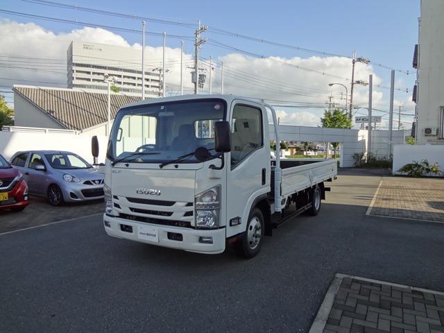 いすゞ エルフトラック ワイドキャブ ロングボディ 準中型免許可 総重量4875kg