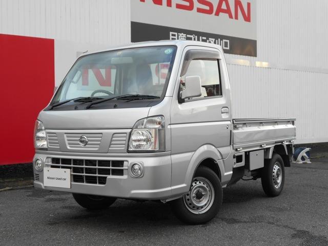 日産 NT100クリッパートラック 660 GX 4WD CD AM/FMラジオ 5AT 4WD