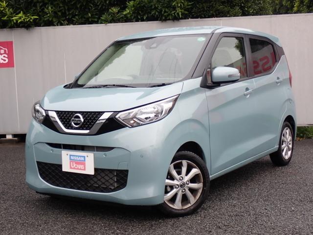 日産 X 当社試乗車・エマージェンシーブレーキ・アラウンドビューモニター・インテリキー・アイドリングストップ