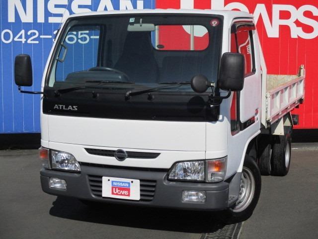 日産 アトラストラック ダンプ 5速マニュアル 走行25085km