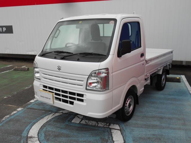 スズキ 660 KCエアコン・パワステ 3方開 4WD 5速マニュアル 4WD