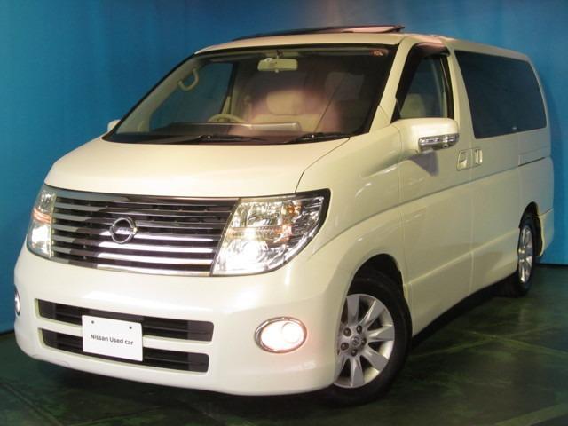 日産 2.5 V エアロ 4WD キセノン ツインサンルーフ