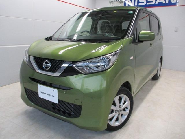 沖縄の中古車 日産 デイズ 車両価格 124万円 リ済別 2019年 2.0万km ライトグリーン