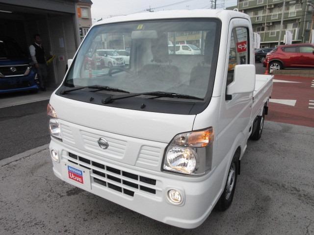 日産 NT100クリッパートラック GX 660 GX 4WD お渡し時 車両用クレベリン施工