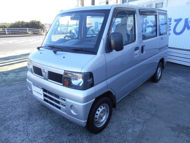 日産 660 DX 4WD AM FMラジオ AC 4WD パワステ