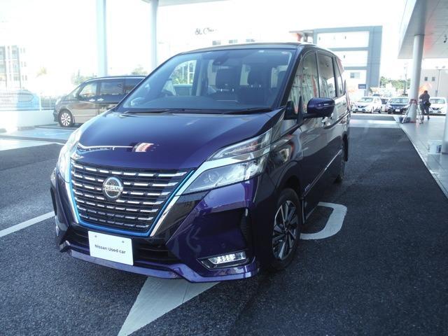 沖縄県の中古車ならセレナ 1.2 e-POWER ハイウェイスター V