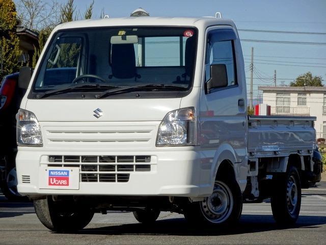 スズキ 660 KCエアコン・パワステ 3方開 4WD 5MT ワンオーナー