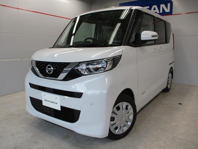 沖縄の中古車 日産 ルークス 車両価格 159万円 リ済別 2020(令和2)年 7km パールホワイト