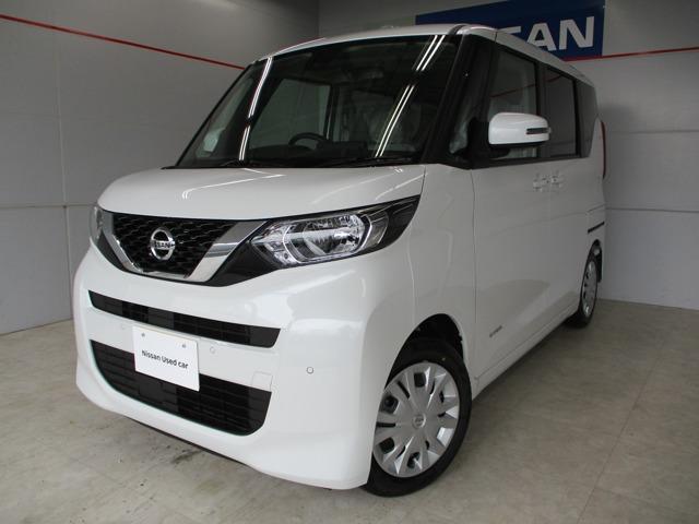 沖縄の中古車 日産 ルークス 車両価格 152万円 リ済別 2020(令和2)年 8km パールホワイト