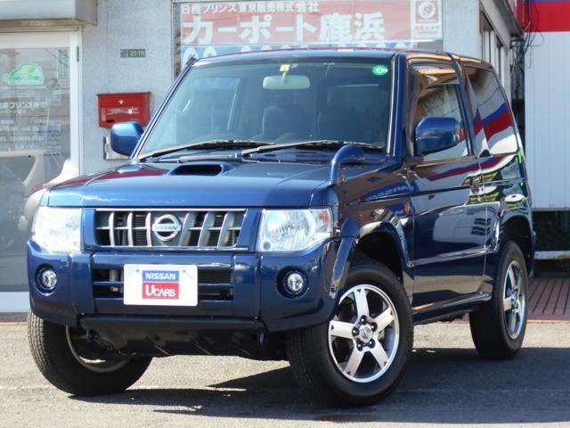 日産 660 RX 4WD 純正HDDナビ ワンセグ 寒冷地仕様 シートヒーター プライバシーガラス アルミホイール キーレス ETC ワンオーナー 寒冷地仕様 ABS プラスチックバイザー フォグランプ Wエアバッグ