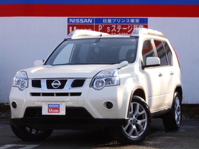 日産 エクストレイル 2.0 20Xt 4WD ナビTV Rカメラ メモリーナビ インテリキー 4WD ETC ナビTV