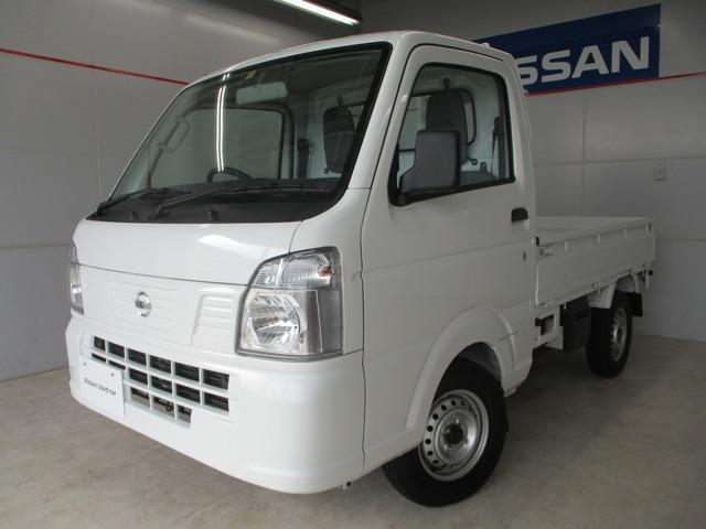 沖縄の中古車 日産 NT100クリッパートラック 車両価格 79万円 リ済別 2020(令和2)年 27km ホワイト