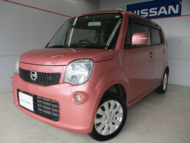 沖縄の中古車 日産 モコ 車両価格 74万円 リ済別 2016(平成28)年 4.7万km レッド
