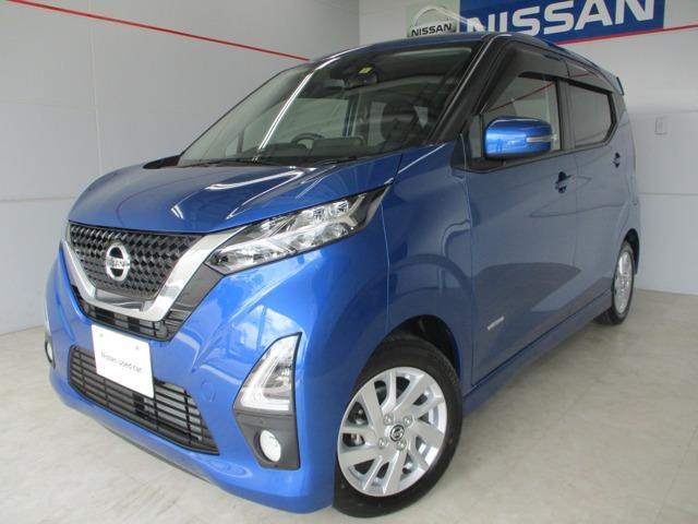 沖縄の中古車 日産 デイズ 車両価格 158万円 リ済別 2020(令和2)年 0.3万km ブラック