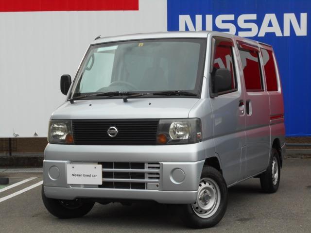 日産 660 DX 4WD 5速M/T車・リヤ5面フイルム貼付 パートタイム4WD エアコンパワステ ETC PS SRS Wエアバック