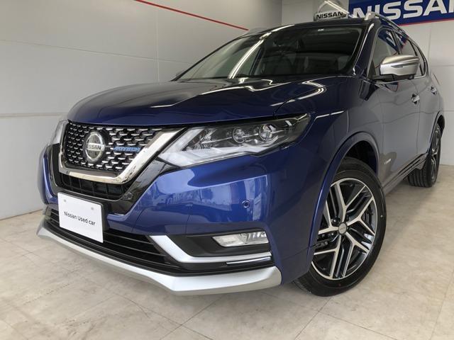 沖縄の中古車 日産 エクストレイル 車両価格 389万円 リ済別 2020(令和2)年 646km ブルー