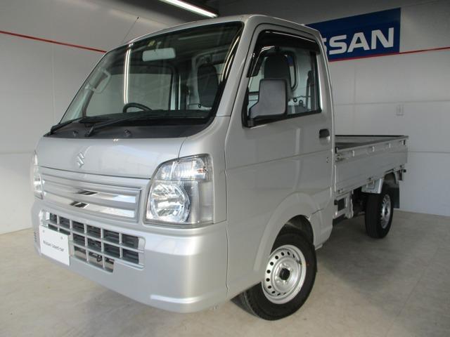 沖縄県の中古車ならキャリイトラック 660 KCエアコン・パワステ 3方開 4WD