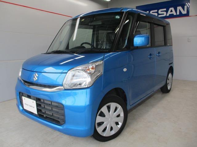 沖縄の中古車 スズキ スペーシア 車両価格 119万円 リ済別 2017(平成29)年 2.8万km ブルー