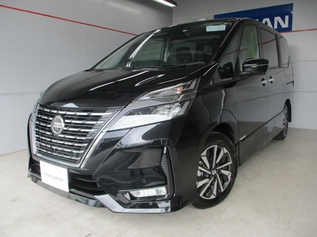 沖縄の中古車 日産 セレナ 車両価格 329万円 リ済別 2020(令和2)年 0.3万km ブラック